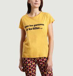 T-Shirt A Lettrage Théophile
