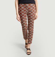 Panaché printed pants