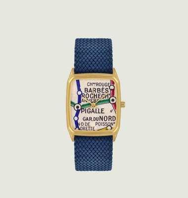 Barbès Perlon Watch