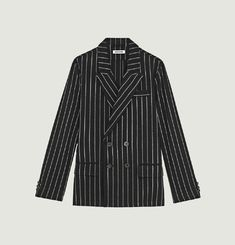 Double breasted jacket Black