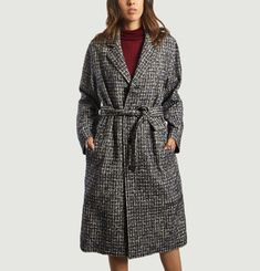 Chequered Overcoat