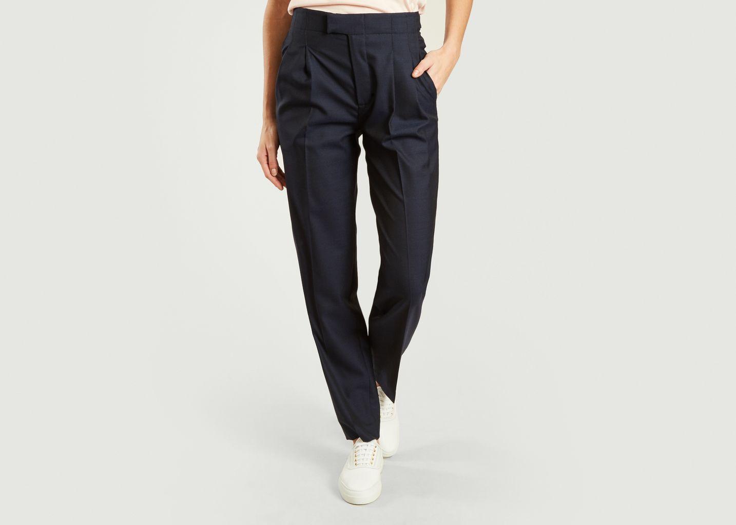 Pantalon Taille Haute - Laquintane