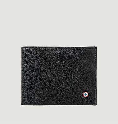 Nubuck leather Italian wallet Arthur