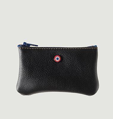 Leather upcycled Emile Wallet