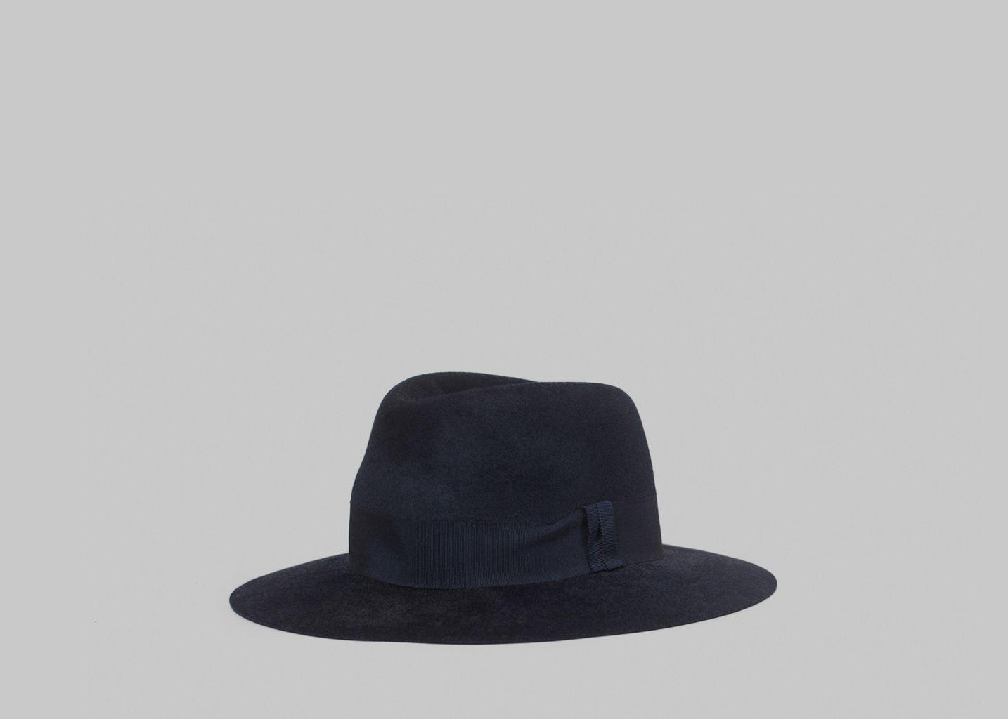 volume grand Super remise moderne et élégant à la mode Chapeau Fedora Feutre