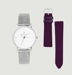 Watch Set with Tannin and Milanese Straps