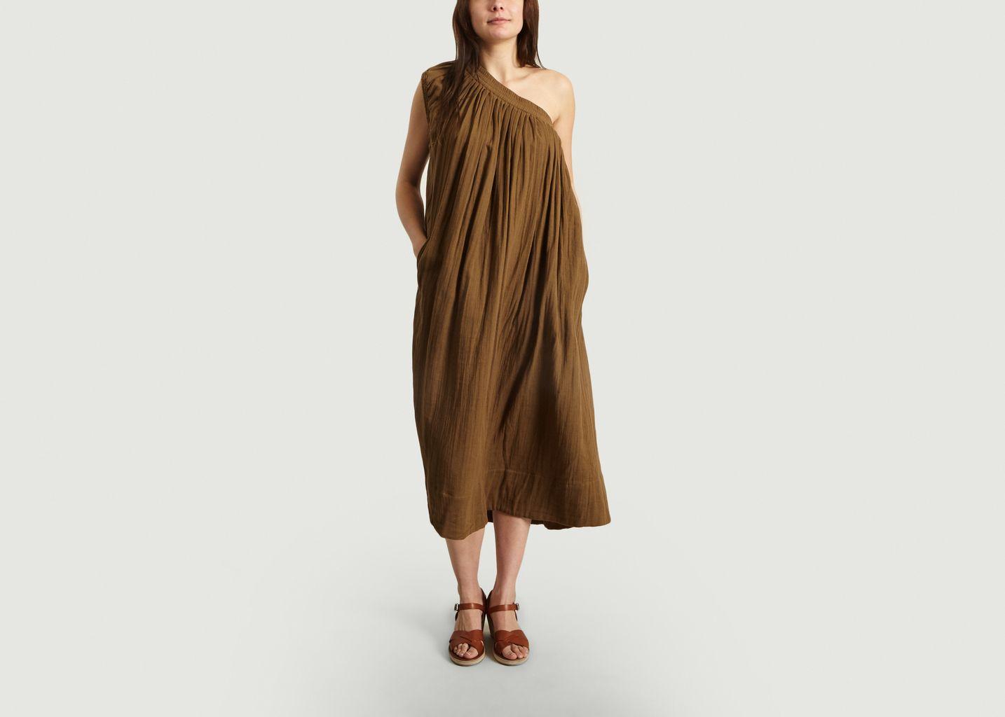 Robe Longue Asymétrique - Laurence Bras
