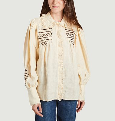 New Champa linen blouse