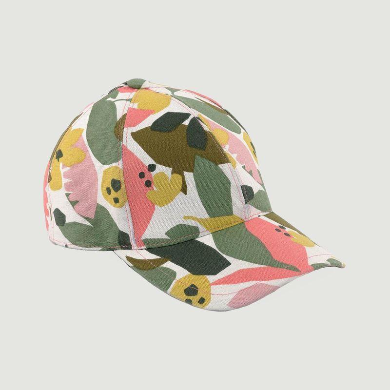 Casquette Feuilles Roses - Le Chapoté