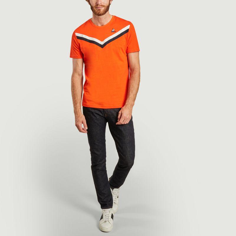 T-shirt tricolore - Le Coq Sportif