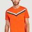 matière T-shirt tricolore - Le Coq Sportif