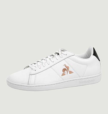 Sneakers en cuir Courtset