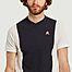 matière T-Shirt Bicolore - Le Coq Sportif