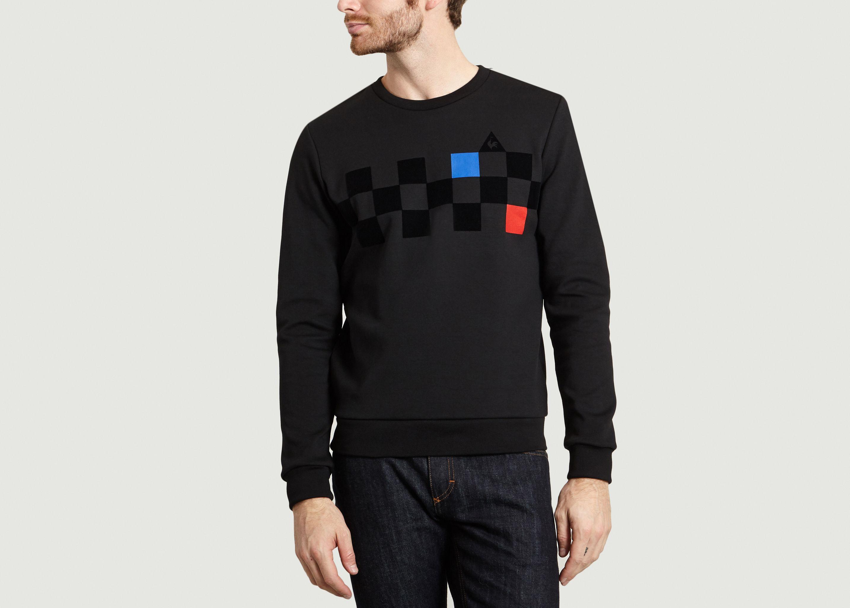 6101169f064e Cycling Sweatshirt Black Le Coq Sportif