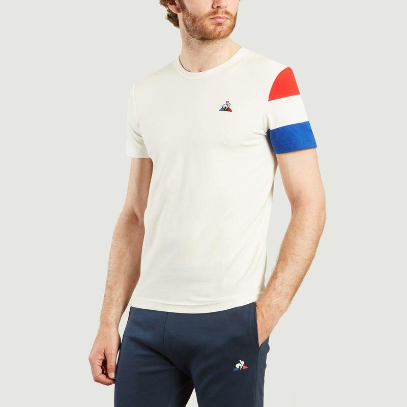 T-Shirt BBR N°2 Tricolore - Le Coq Sportif