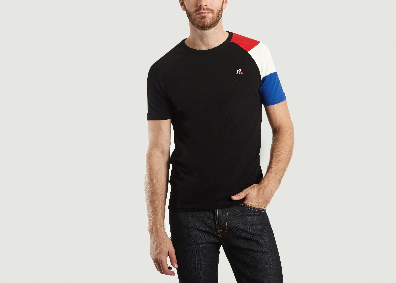 c6f5f5796b Tri-colour T-shirt Black Le Coq Sportif | L'Exception