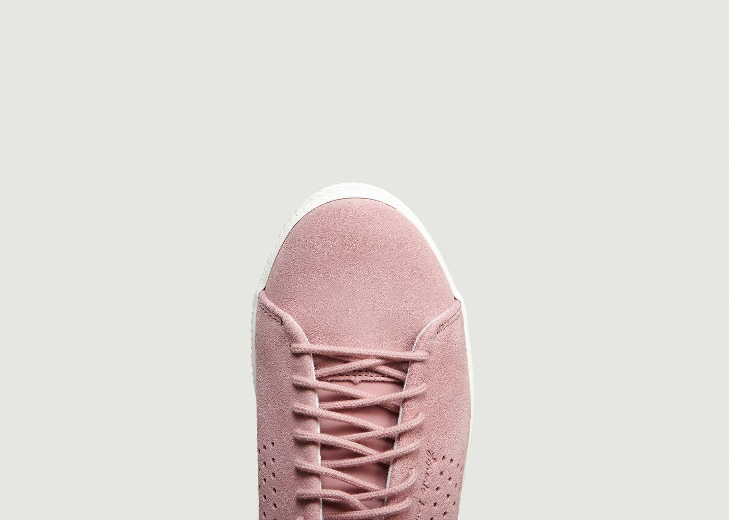 dc8537b45059 Charline Suede Trainers Pink Le Coq Sportif | L'Exception