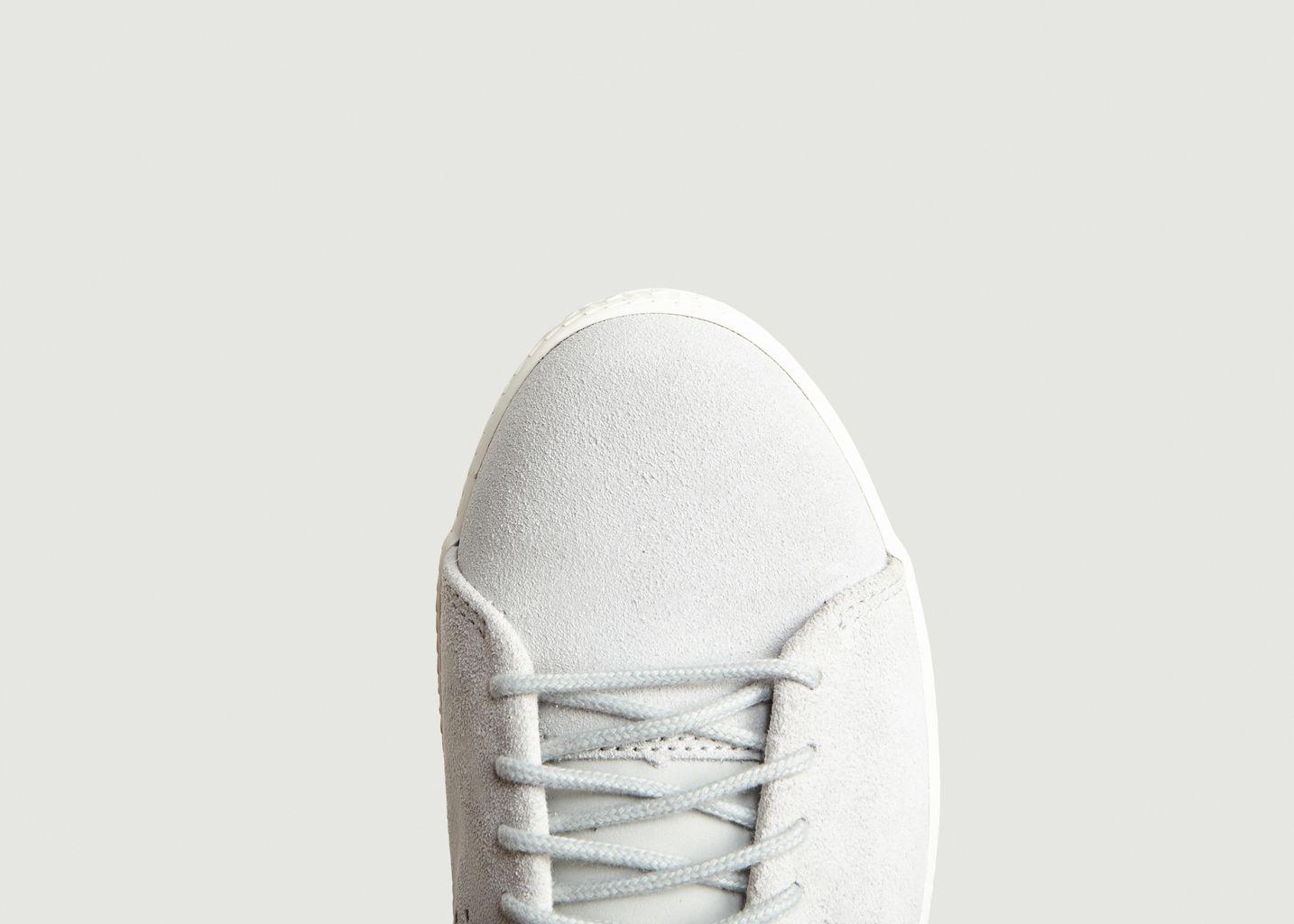 Soldes Sneakers Charline Suède Gris Léger Le Coq Sportif à -40%   L ... 4c028d4dd312