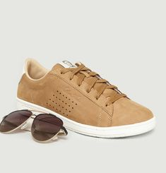 Arthur Ashe Tan Trainer & Sunglasses Pack