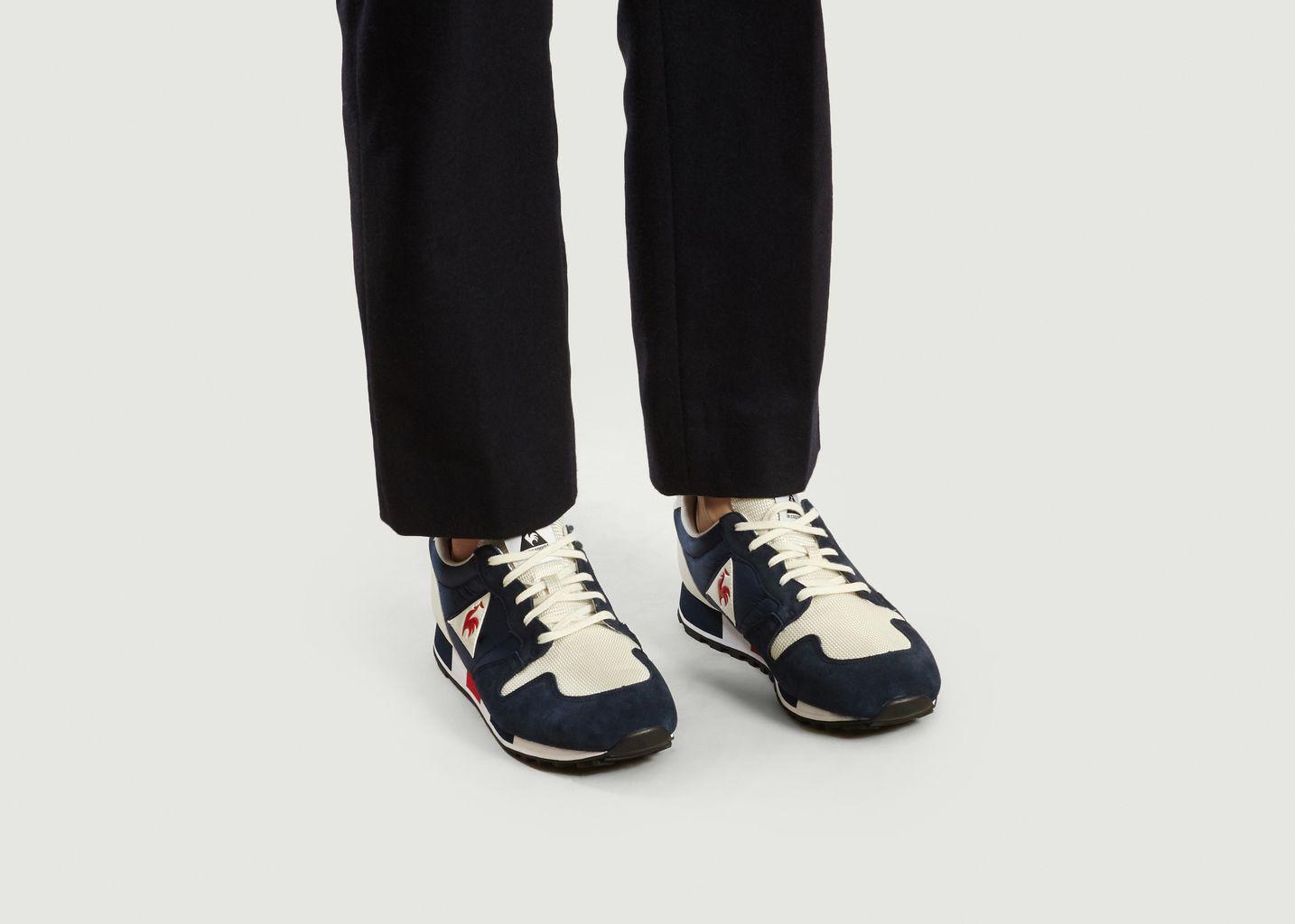 Le Coq Sportif Omega Marshmallow bleu blanc rouge