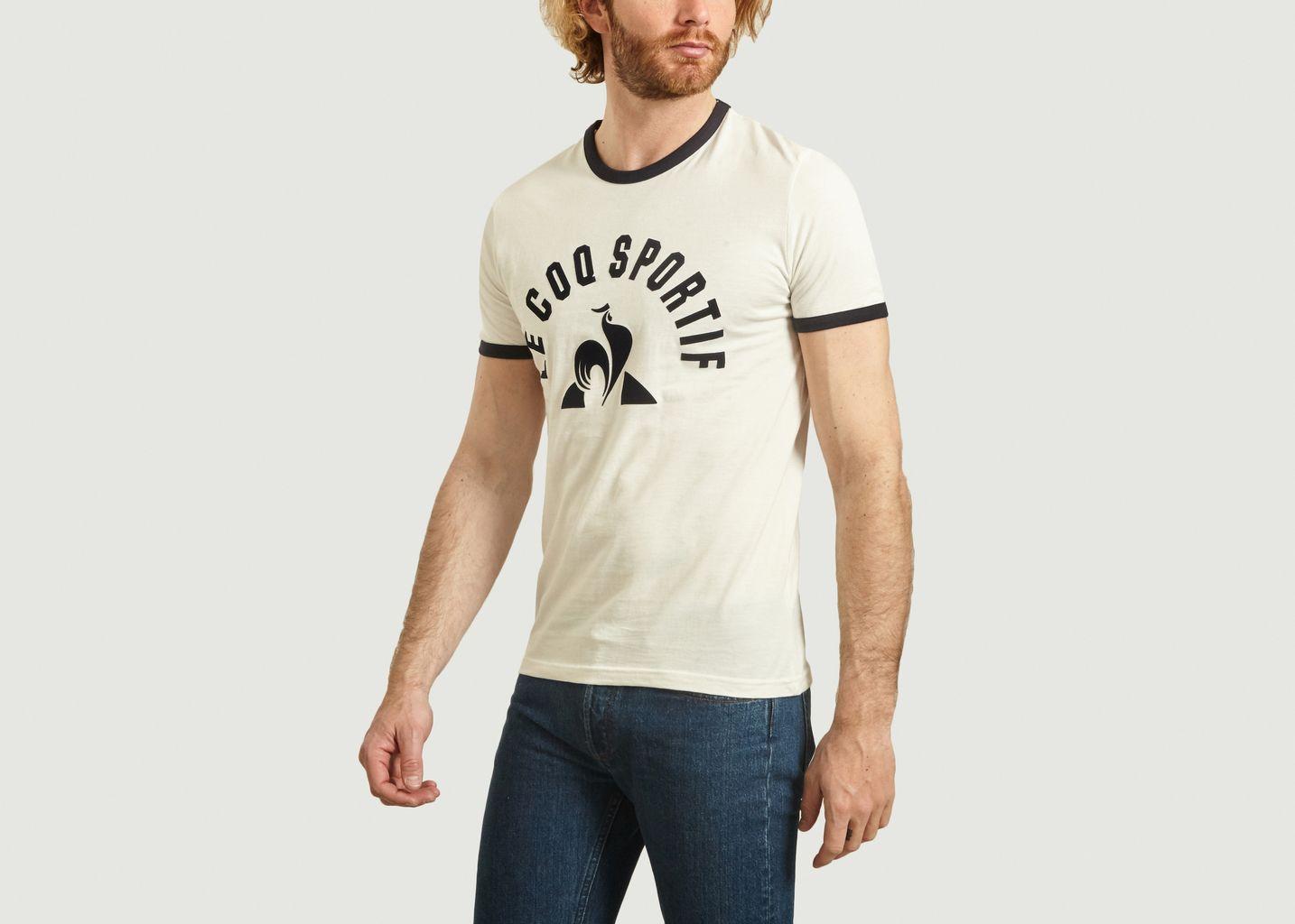 Mens Le Coq Sportif Logo Essential Tshirt Lecoq Cotton T Shirt