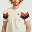 matière T-Shirt Chevrons - Le Coq Sportif