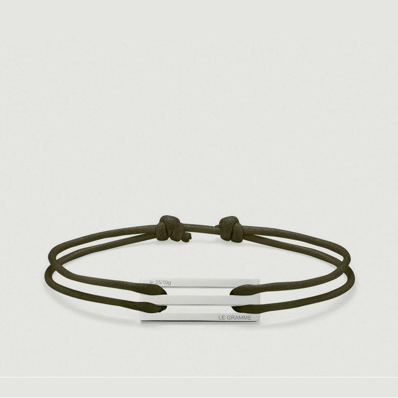 Bracelet Cordon Le 25/10g  - Le Gramme