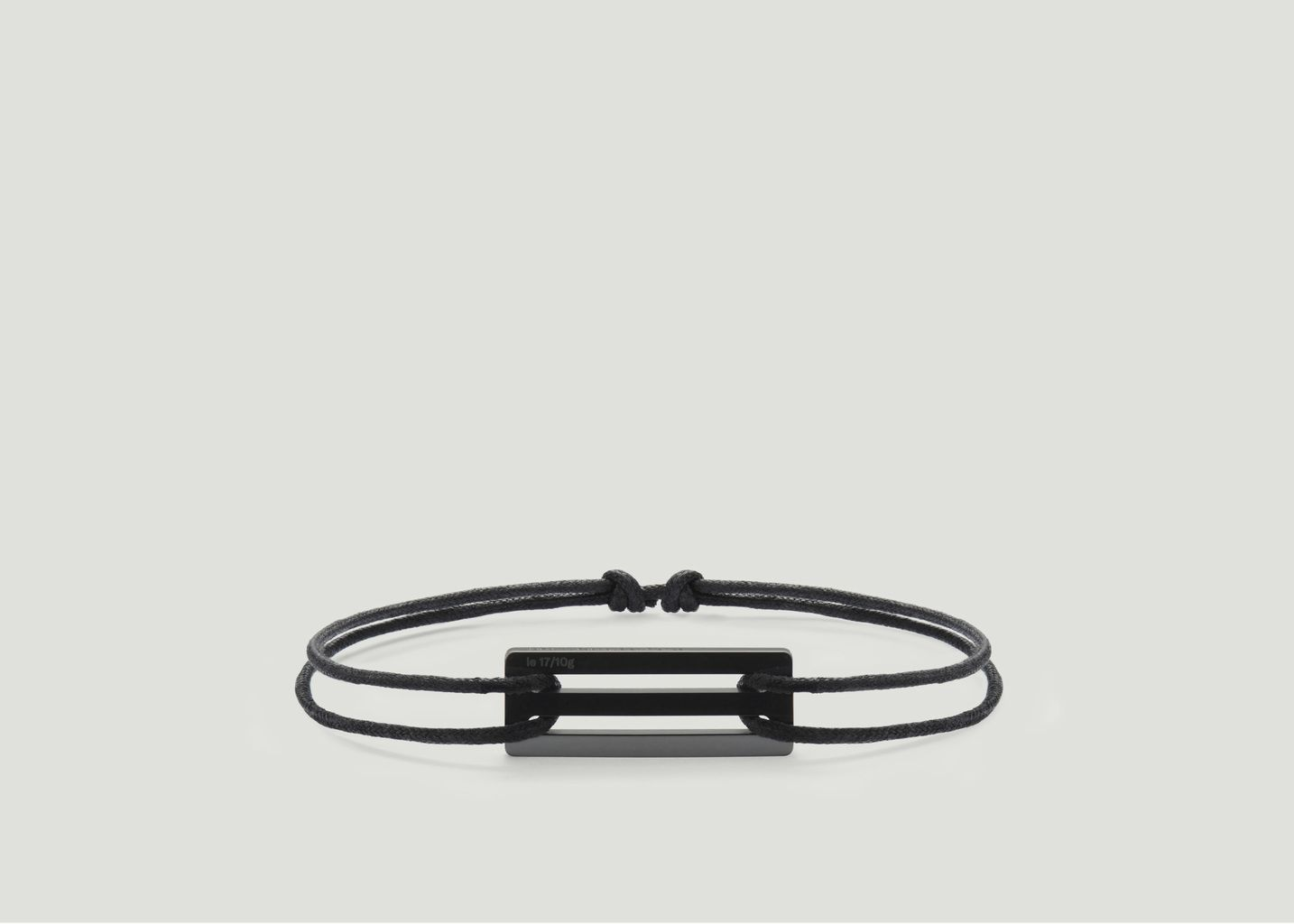 Bracelet Cordon Céramique Le 17/10g - Le Gramme