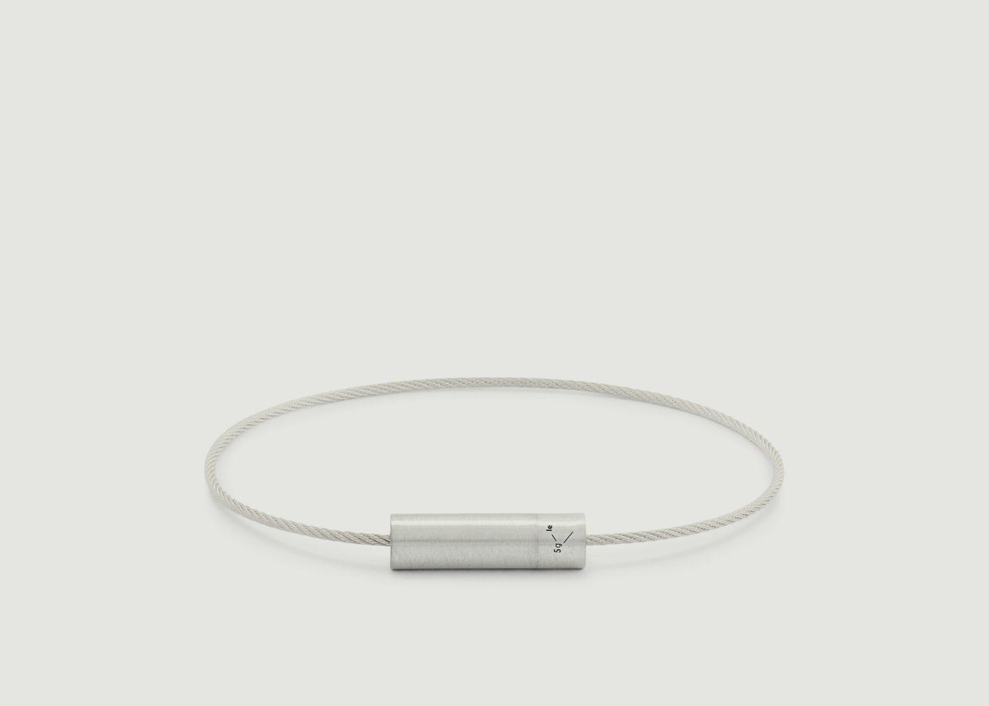 Bracelet Le Câble 5 grammes - Le Gramme