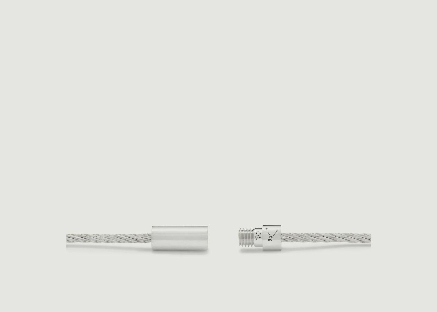 Bracelet Le Câble 9 grammes - Le Gramme