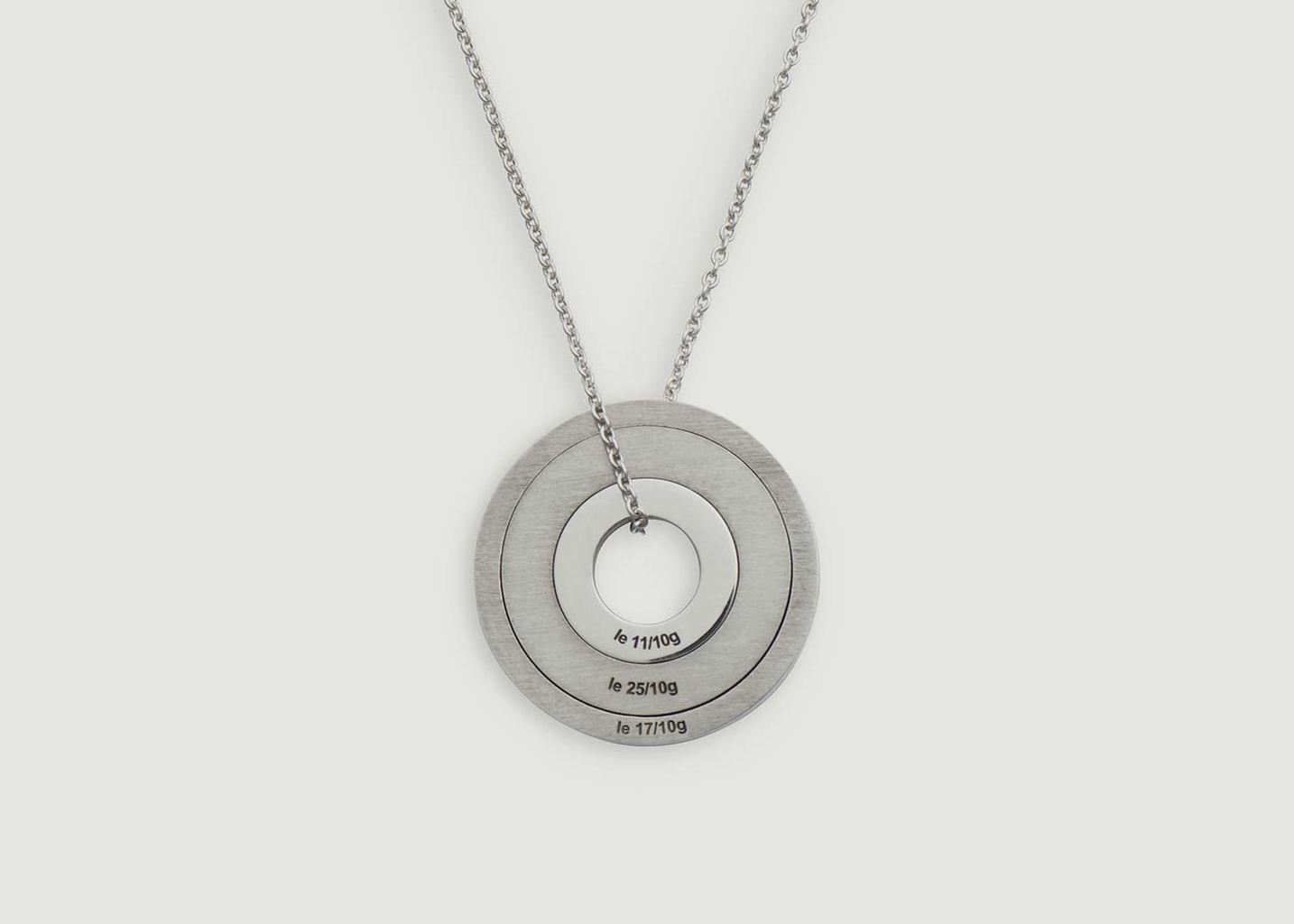 Médaille Disque 2.5gr - Le Gramme