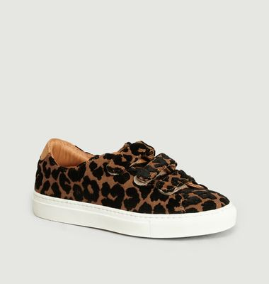 Sneakers à Scratch Léopard