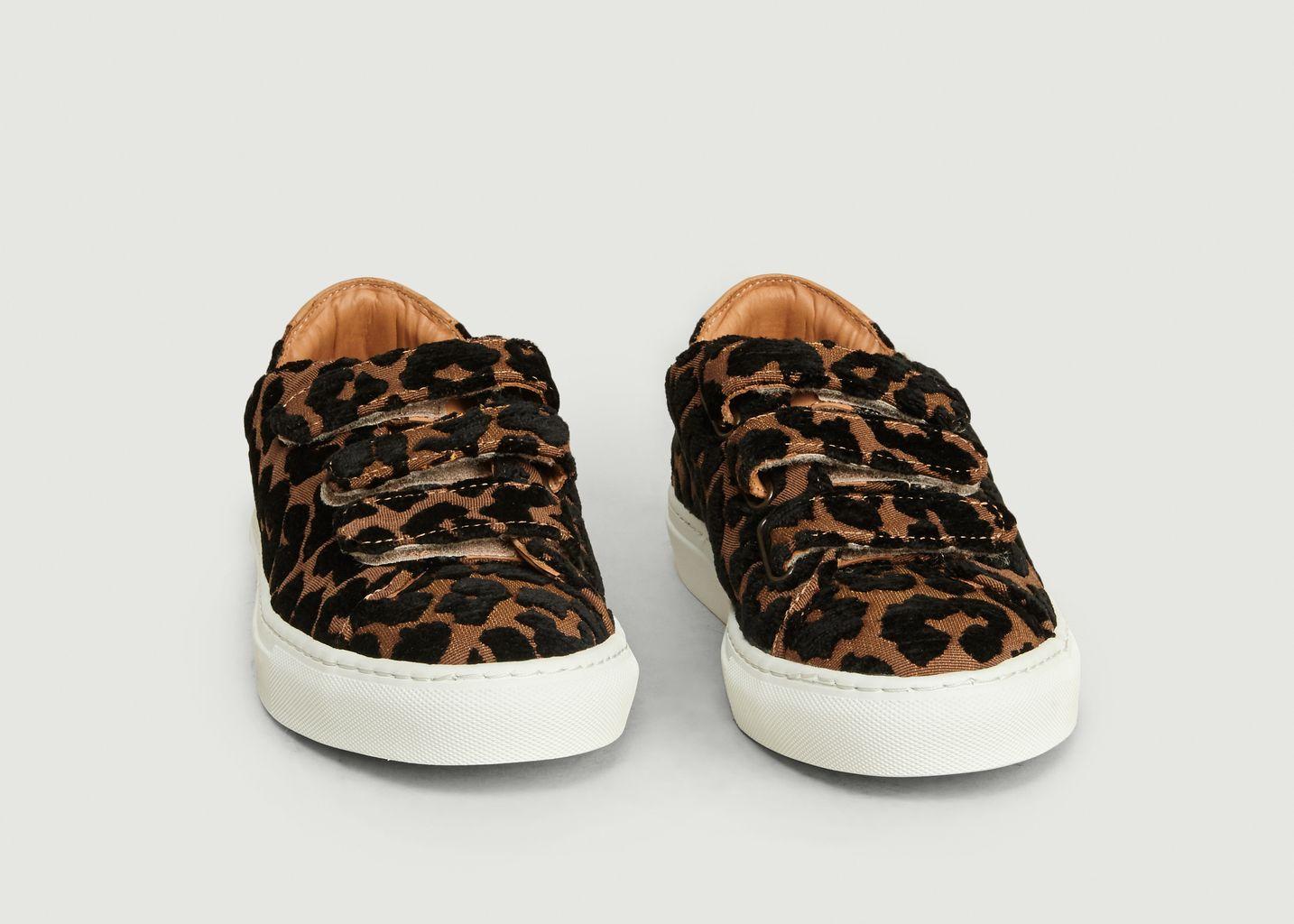 Sneakers à Scratch Léopard - Le Lissier