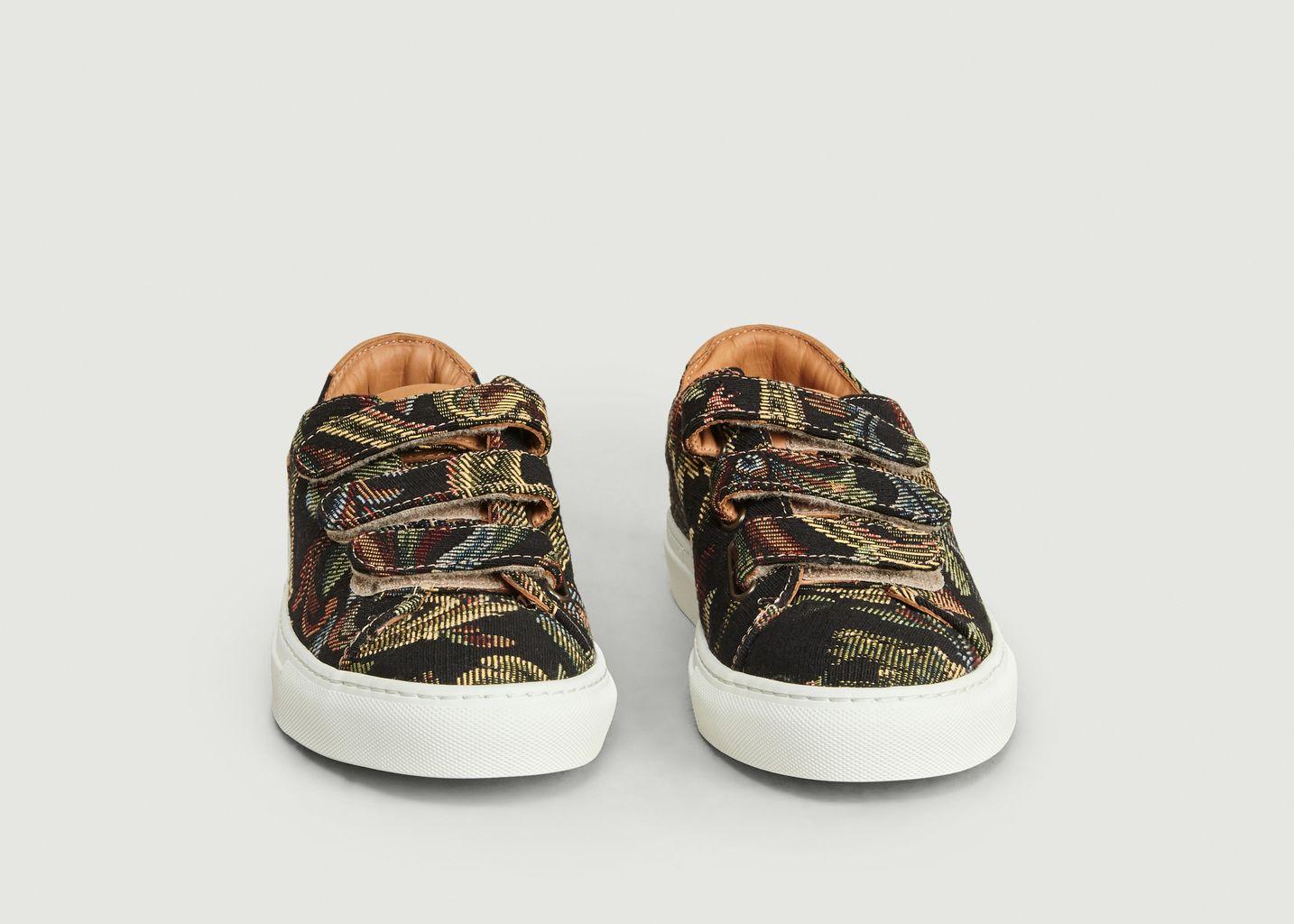 Sneakers à Scratch Tapisserie - Le Lissier