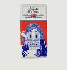 Tablette De Chocolat Noir Et Fèves Notre-Dame