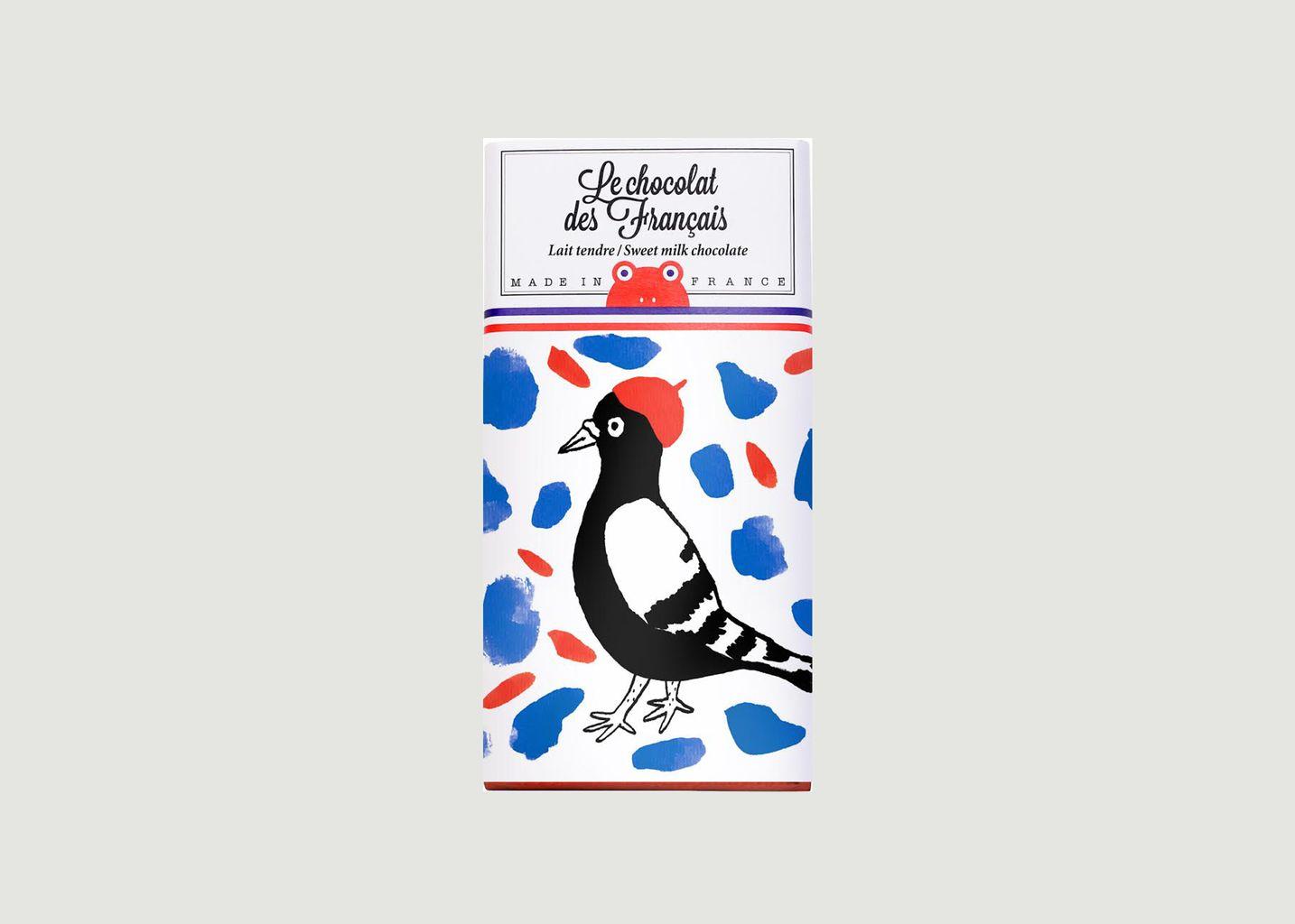 Tablette La Pie - Lait Tendre - Le Chocolat des Français