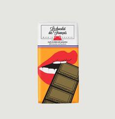 Tablette Bouche Croquante - Lait 41% et éclats de noisettes