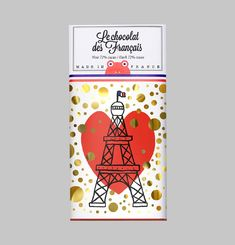 Eiffel Tower Chocolate Bar