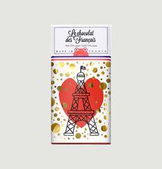 Tablette Tour Eiffel Coeur - Noir 72%