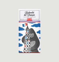 Tablette King-Kong - LAit Caramel et Sel de Guérande