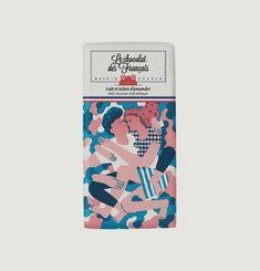 Tablette Chocolat Bio Lait & Amandes Le Câlin
