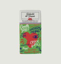 Tablette Chocolat Noir Amandes Caramel Salé Bio Le Coeur