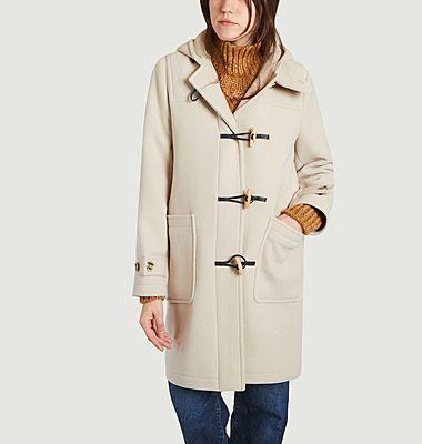 Manteau mi-long dufflecoat Essentiel