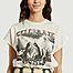matière Sweatshirt manches courtes en coton et modal Sam Concert - Leon & Harper