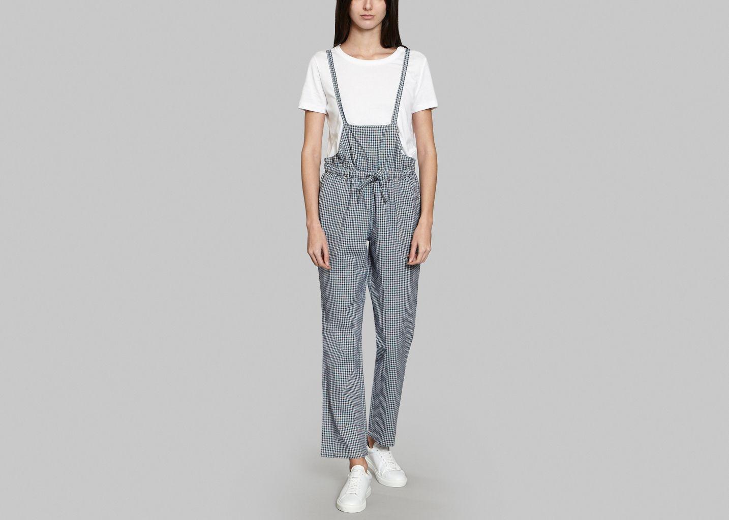 Combi pantalon origami leon harper bleu marine l 39 exception - Combi pantalon bleu marine ...