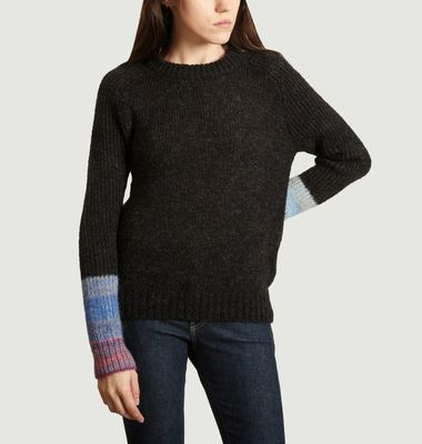 Pull A Manches Contrastées Muse Rainbow