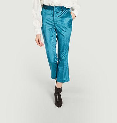 Pantalon en velours 7/8e Papou