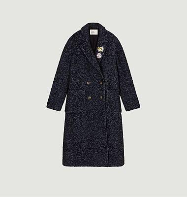 Manteau TW88 en laine avec badges