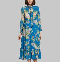 Robe Rahia Flower