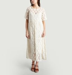 Robe Manches Courtes Roublard Lace